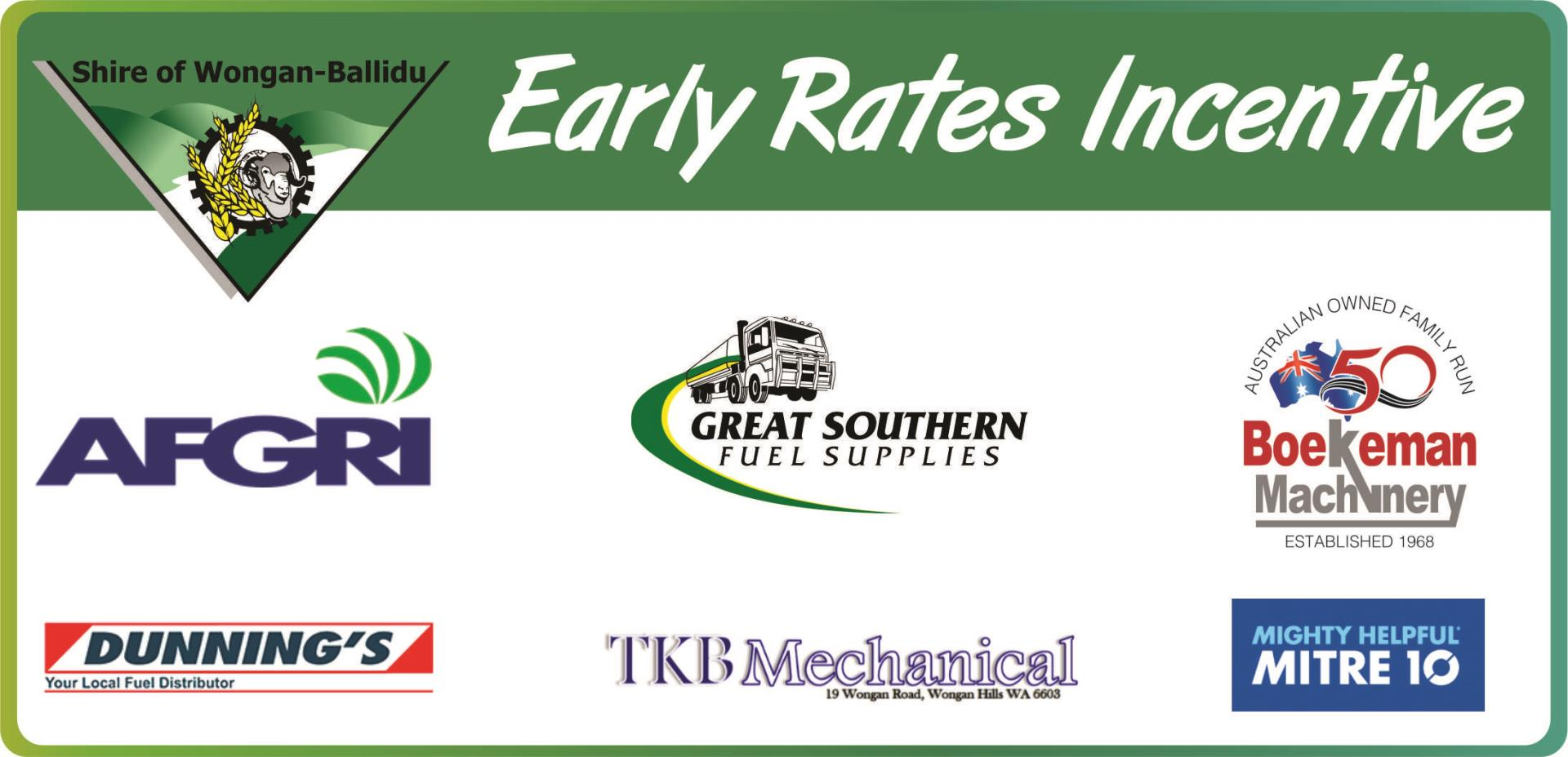 Early Rates Incentive