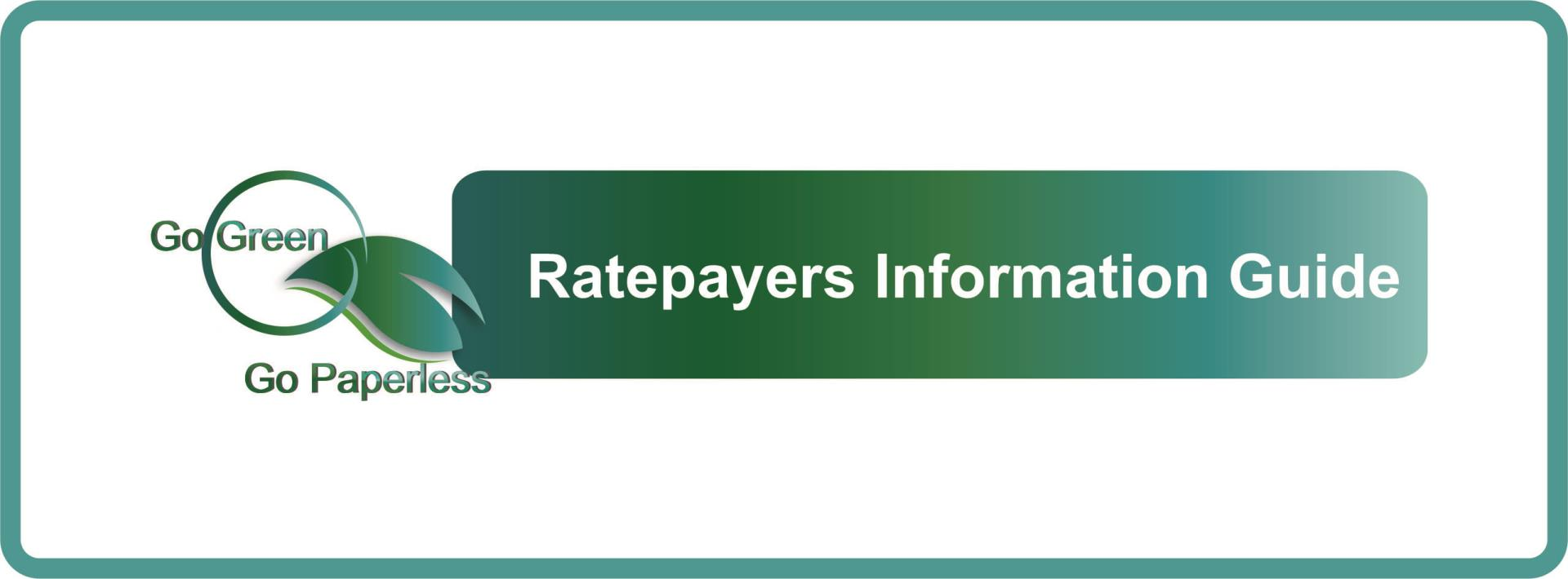 eRates and Ratepayers Information Guide 2020