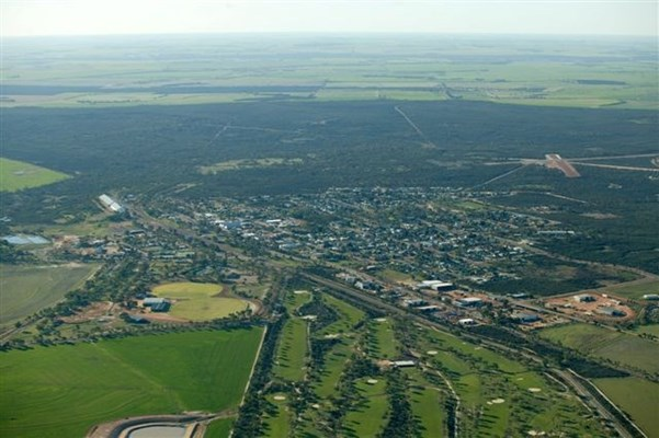 Ariel Views of the Wongan Town - Wongan3
