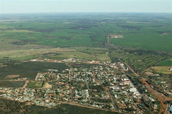 Ariel Views of the Wongan Town - Wongan1