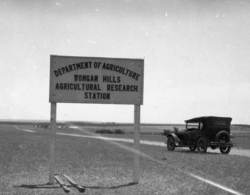 Agricultural Research Station - Station Sign