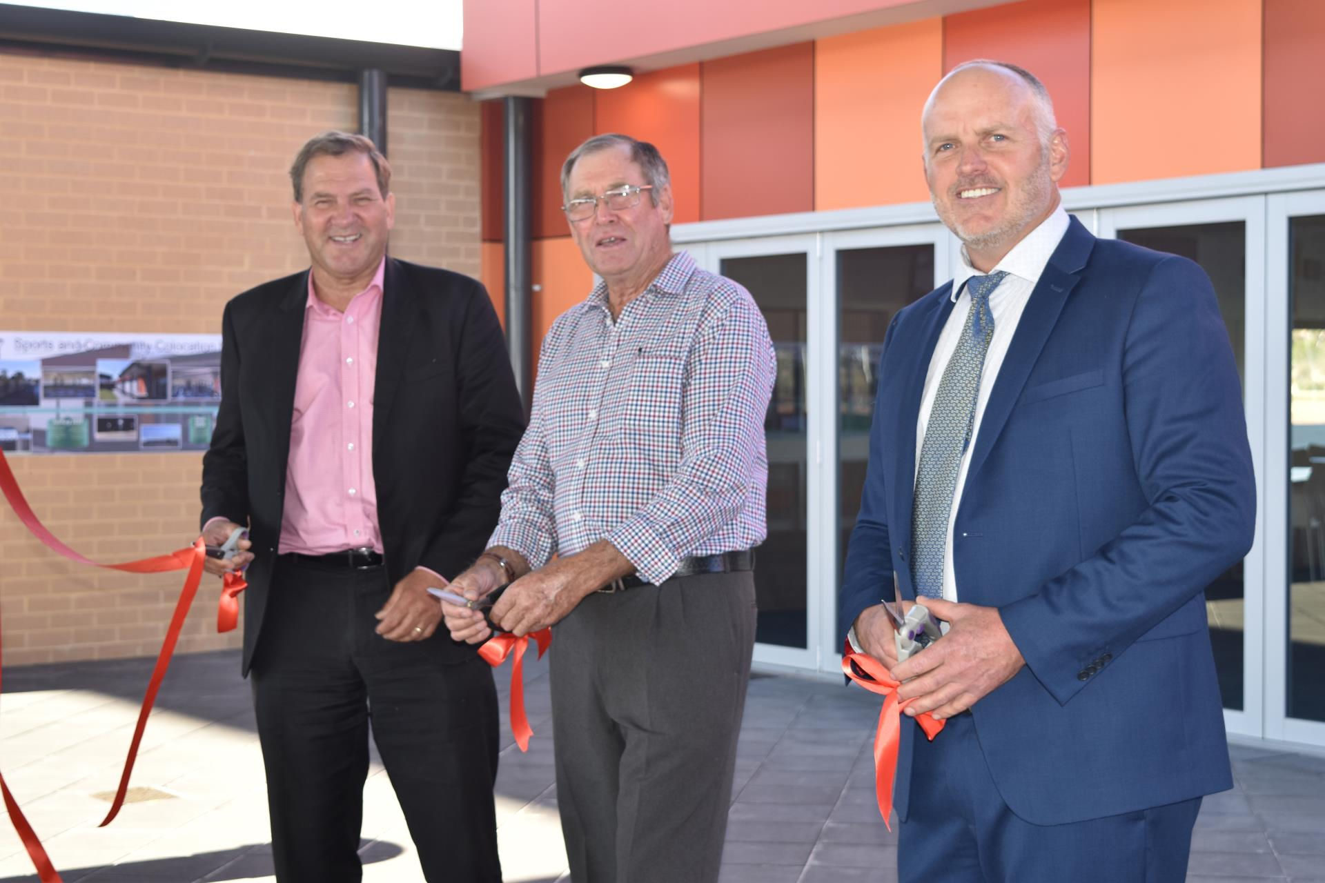 Grand Opening - Wongan Hills Sports, Recreation and Community Complex