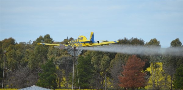 Dunn Aviation Crop Dusting Ballidu