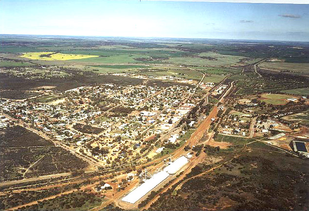 Aerial Shot of Wongan